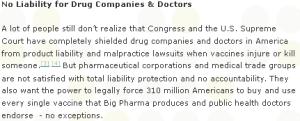 Vaccine Awakening - No Liability