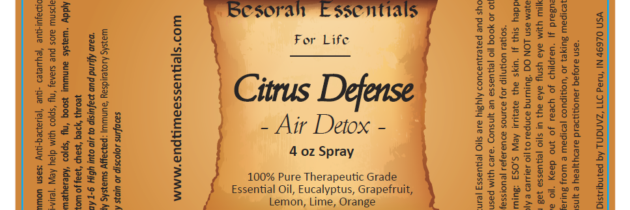 Citrus Defense Essential Oil